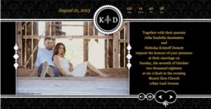 digital wedding invitations