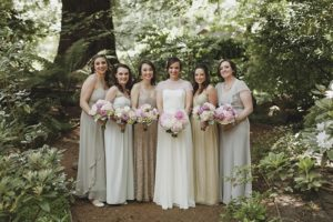 color palette for wedding environment