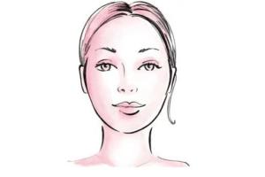 wedding hair for oval face shape
