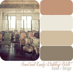 complementary colors for wedding color palette