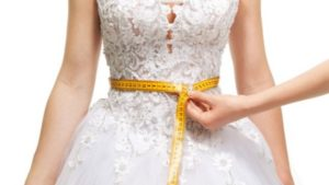 bride losing belly fat