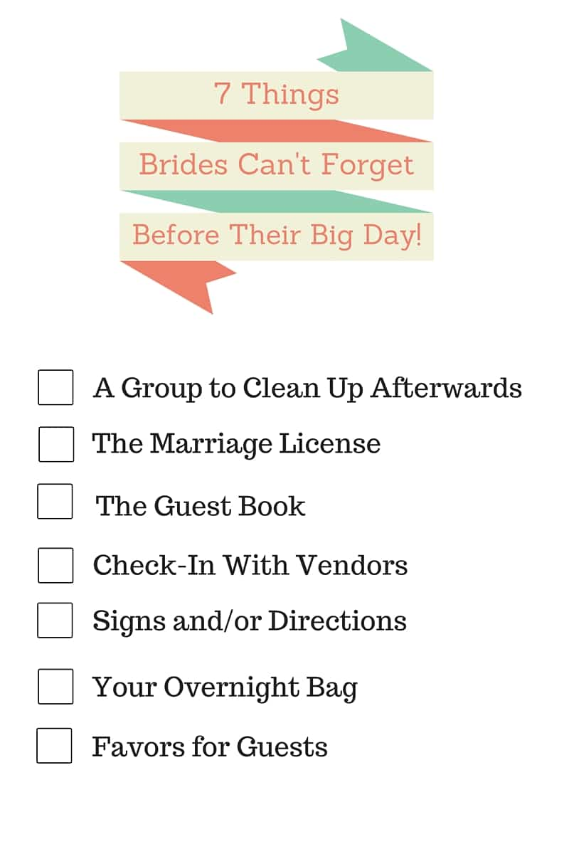 If You Don't Take Notes Now, You'll Regret It On Your Wedding Day