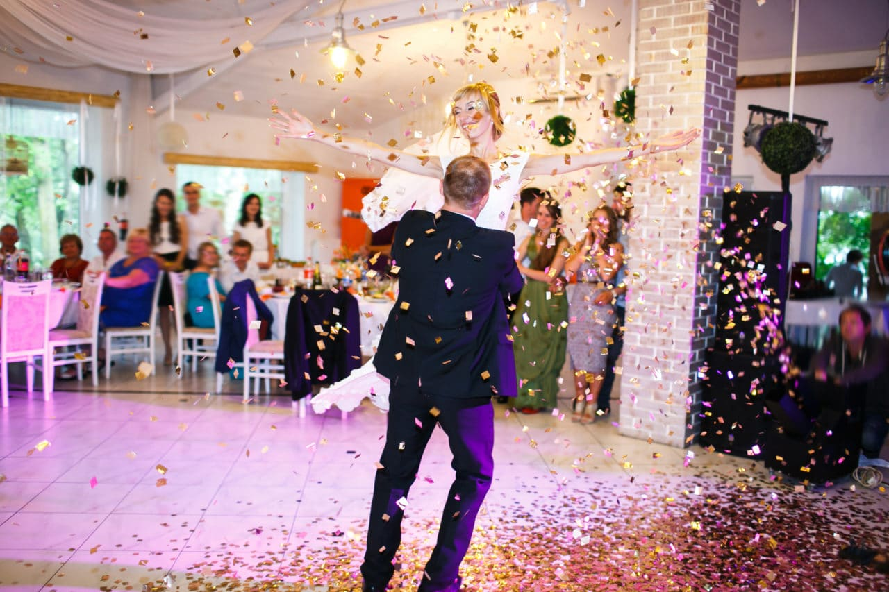 surprise choreographed first wedding dance