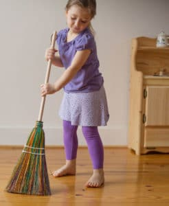 age appropriate chores for elementary schoolers