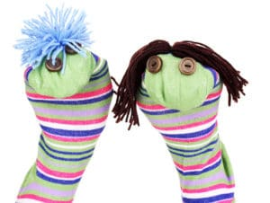 puppets as a rainy day activity