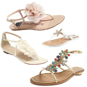 sandals as wedding shoes