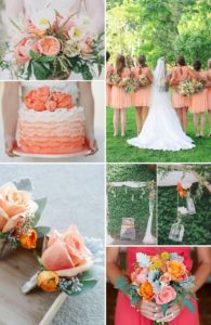 spring wedding color combinations
