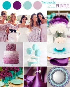 summer wedding color combinations