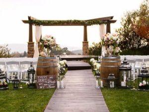 consider wedding venue when choosing tux