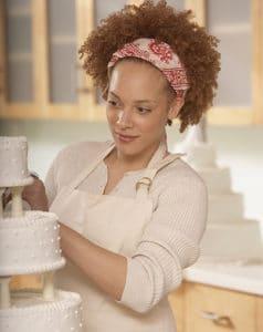 paying a wedding baker