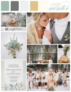 winter wedding combinations