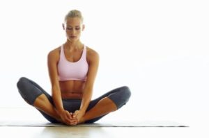 safe pregnant yoga pose