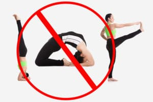 yoga poses for pregnant woman to avoid