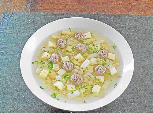 german wedding soup