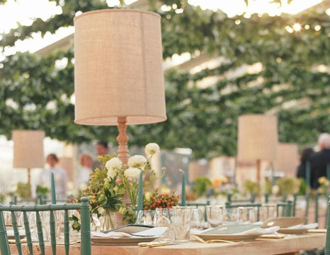 lamps for wedding lighting