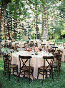 wedding table seating