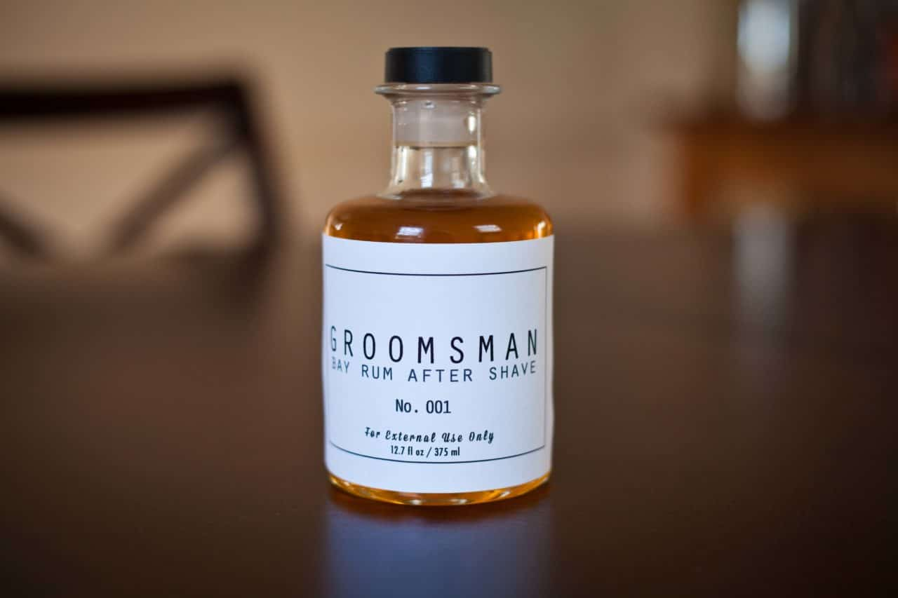 aftershave groomsmen proposal