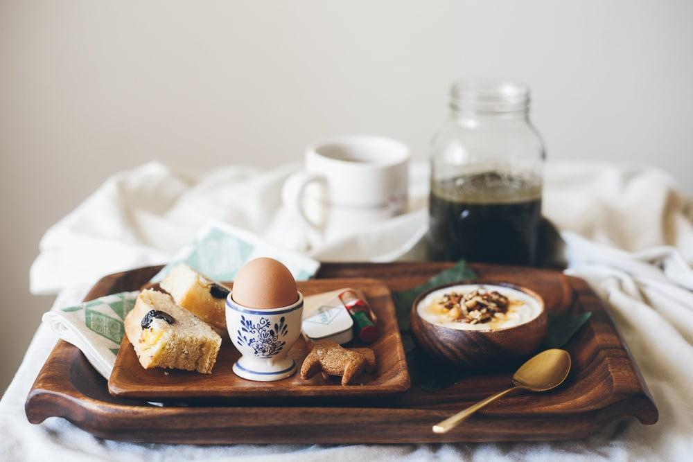 breakfast from bride