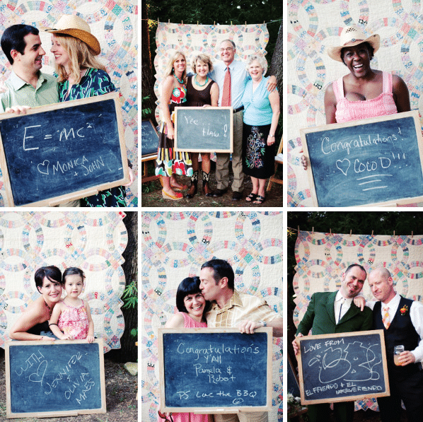 wedding Photo Booth messages