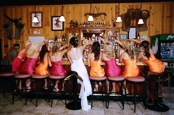alcohol at wedding