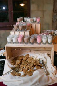 refreshing wedding snacks