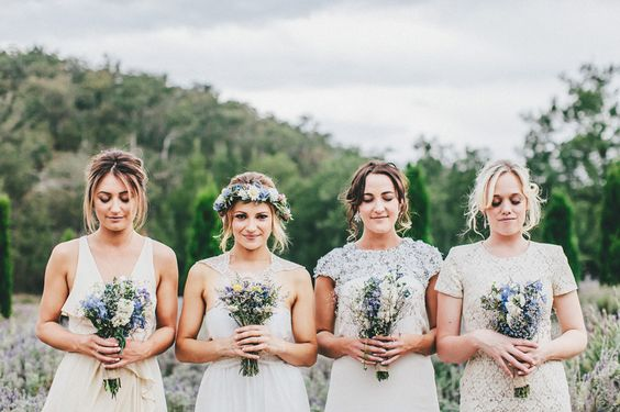 Bridesmaids and Brides with Children