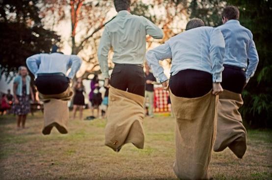 outdoor activities for kids at wedding