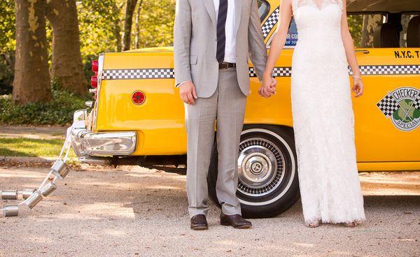 taxi wedding getaway cars