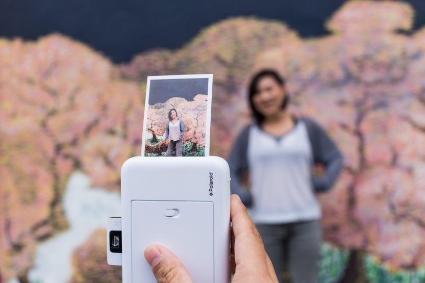 polaroid camera for DIY photo booth