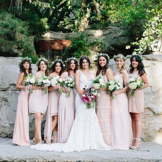 untraditional bridesmaid dress