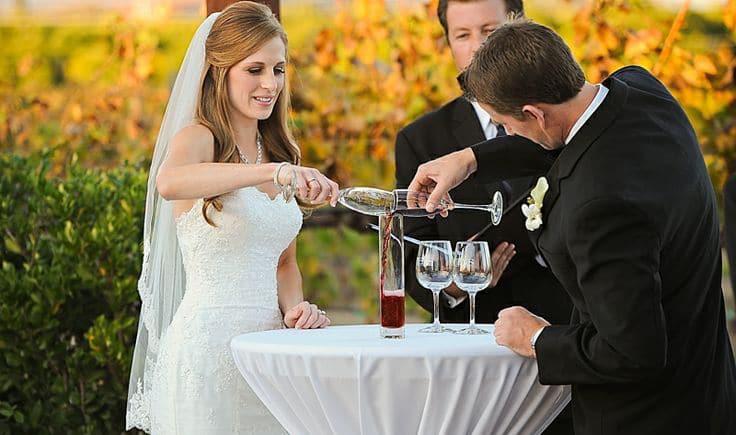 wine unity ceremony