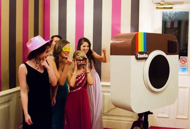 DIY photo booth camera
