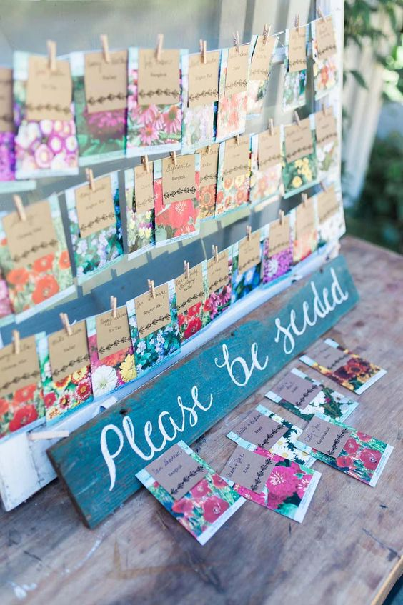 seed place cards