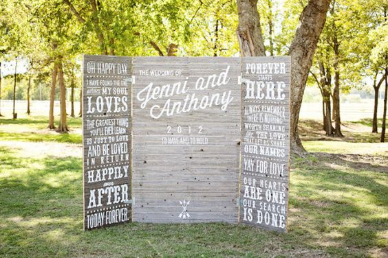 wedding trifold
