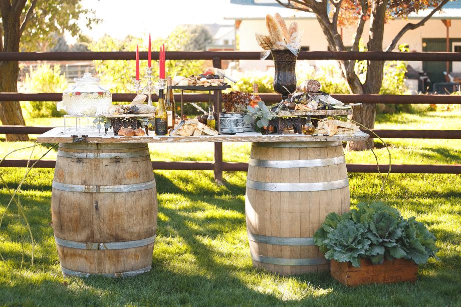wedding food bars