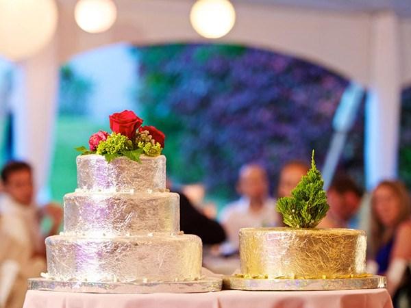 bermuda wedding cake cedar sapling