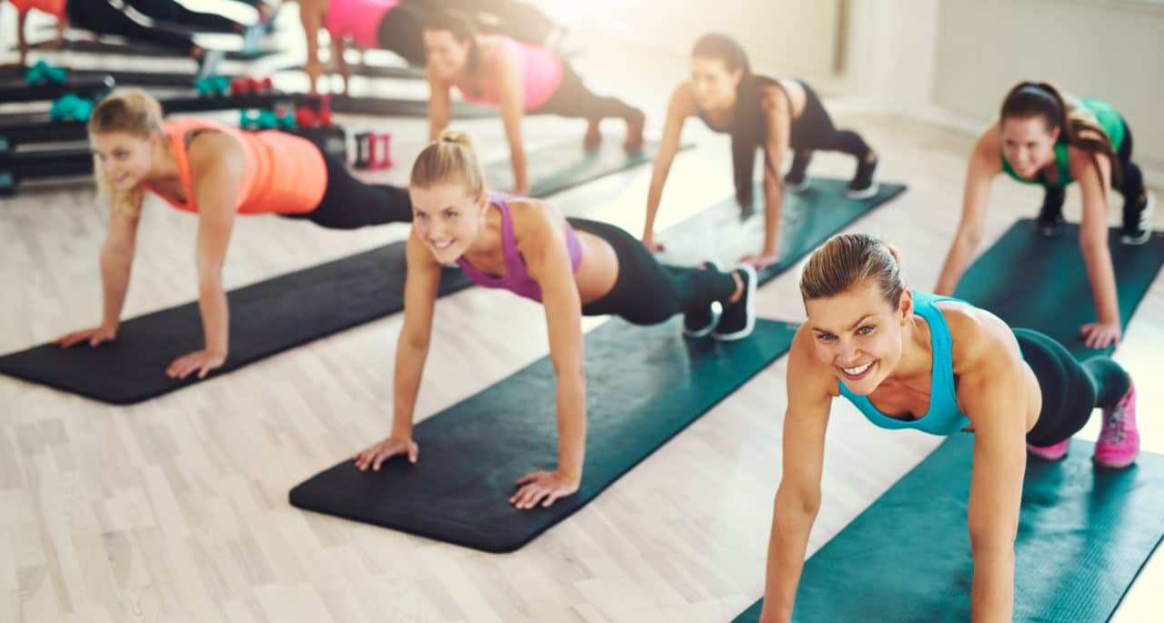 workout classes for bridal party