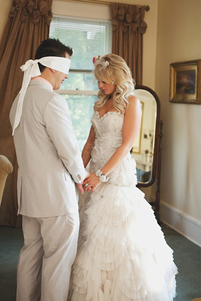 Groom Praying for Bride