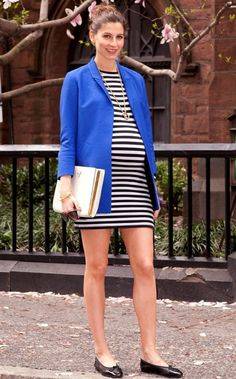 preppy maternity fashion