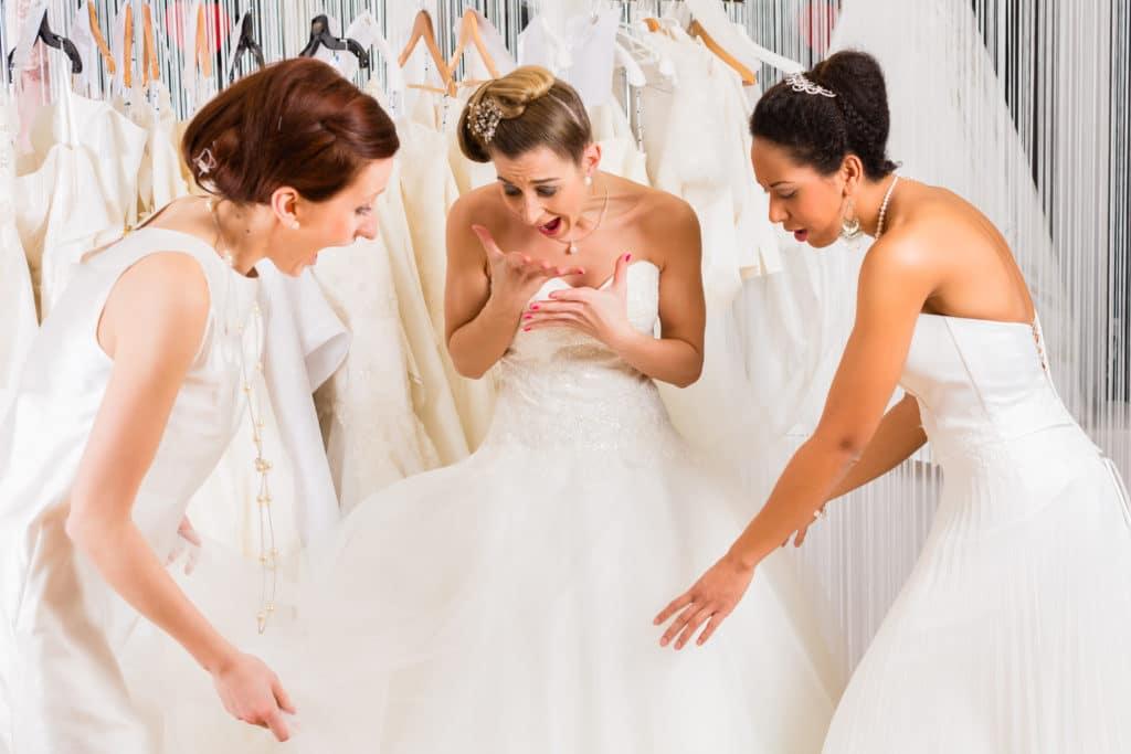 finding wedding dress