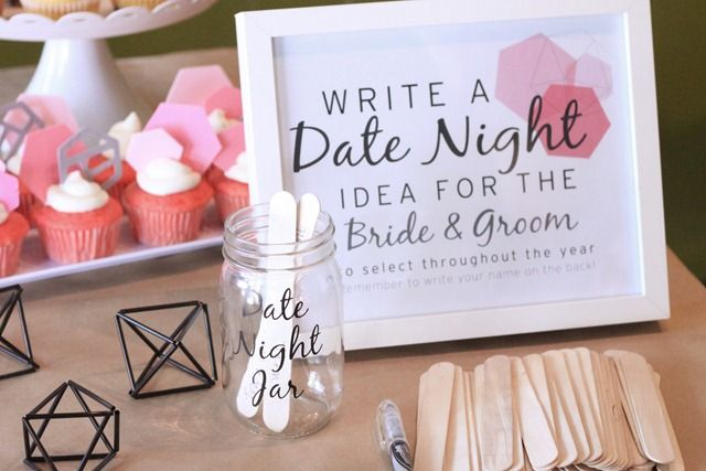 date jar wedding
