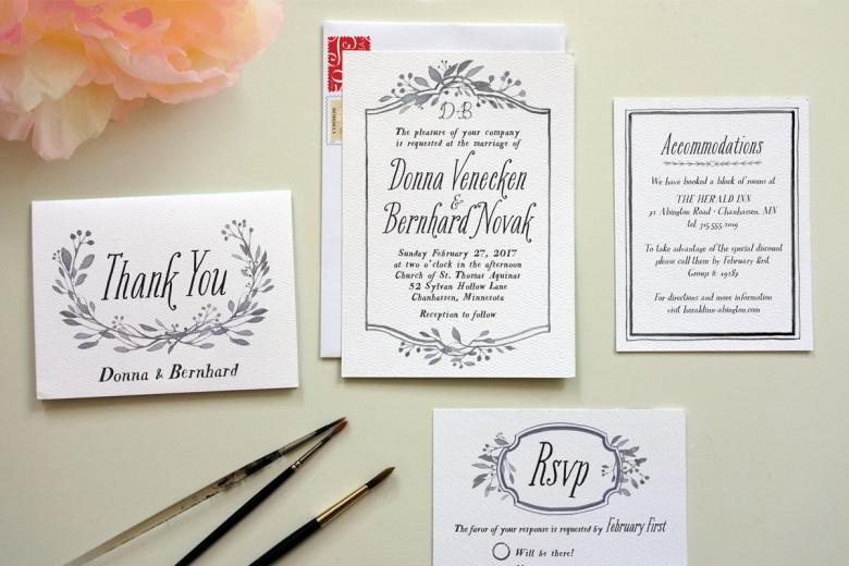 wedding invitations cost