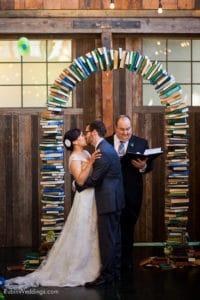 wedding book arch