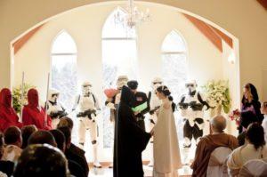 nerdy wedding attire