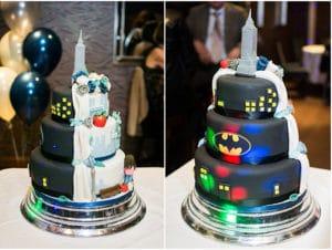 nerdy wedding cake