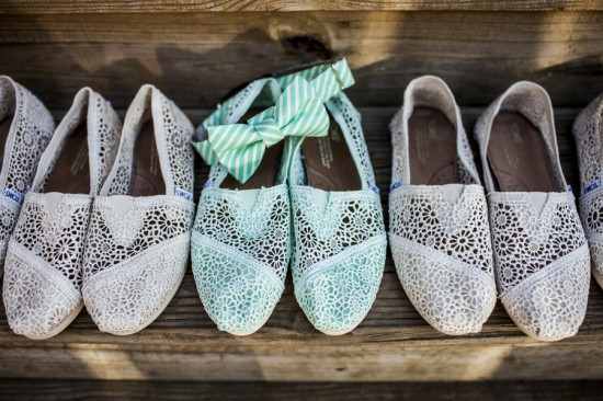 Virginia-Wedding-Ceremony-TOMS-Bridal-Party-Shoes-550x366