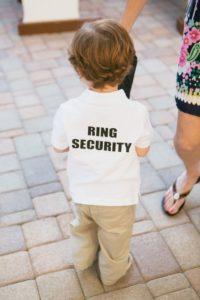 ring bearer duties