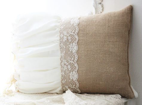 wedding dress into pillow
