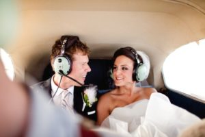 travel themed wedding getaway