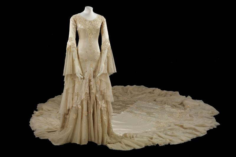 historical wedding dress